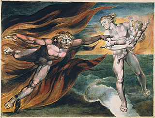 "William Blake. ""L'eterna lotta tra bene e male"""